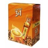 Кофе растворимый Jacobs Monarch Классика 3 в 1 сублимированный в стиках, 24 стика по 12 гр.